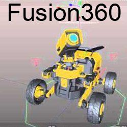 Fusion 360 DP logo